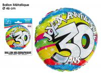 BALLONS HELIUM 30 ANS