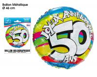 BALLONS HELIUM 50 ANS