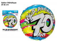 BALLONS HELIUM 70 ANS