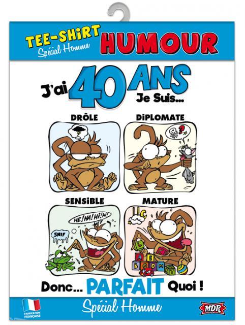 Carte Anniversaire 40 Ans Homme Humour Club Energy