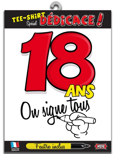 TEE SHIRT ON SIGNE S2/18 ANS