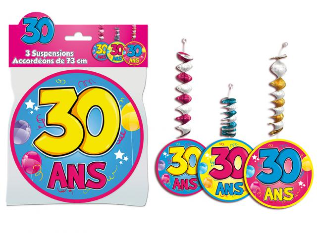 SUSPENSIONS ACCORDEONS 30 ANS