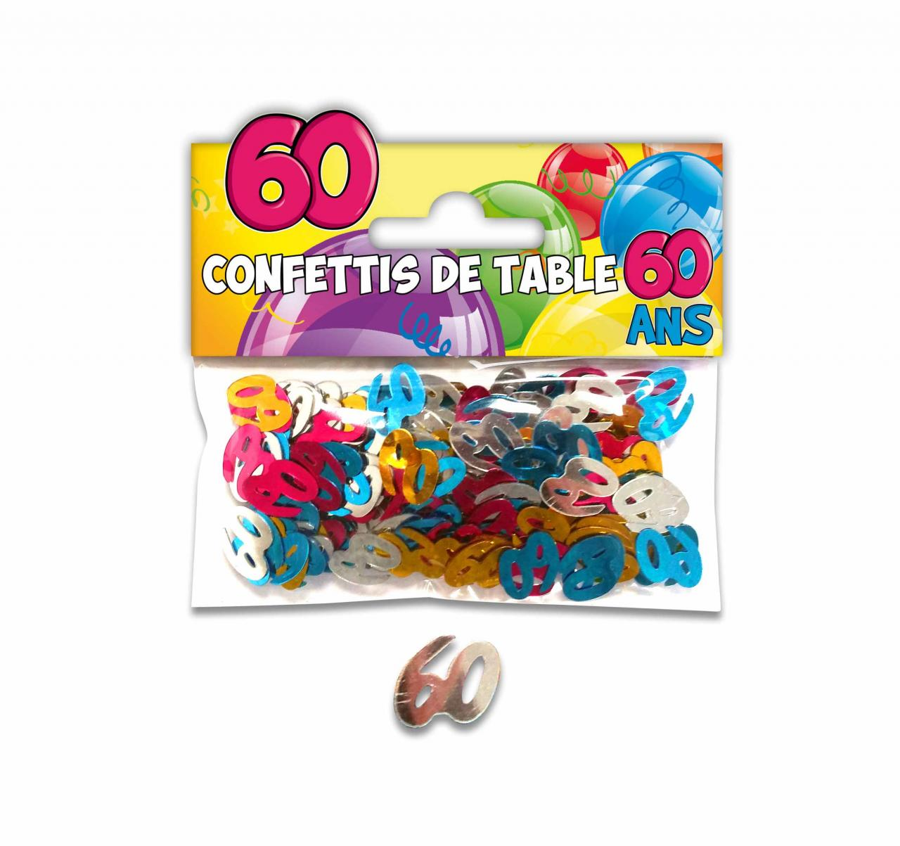 Confettis de Table Âge