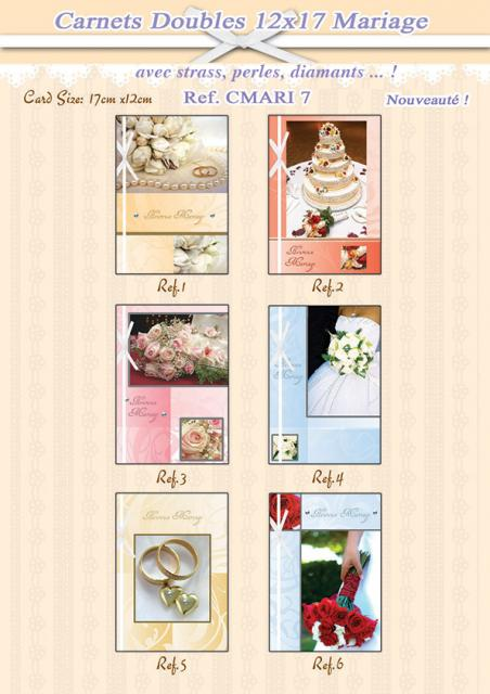Carnets doubles Mariage