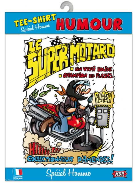 T-Shirt Humour Super Motard