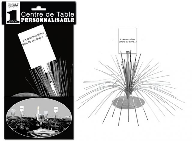 Centre de Table personnalisable